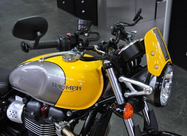Acheter une moto TRIUMPH Street Cup 900 ABS mit SB Lenkerkit neuve