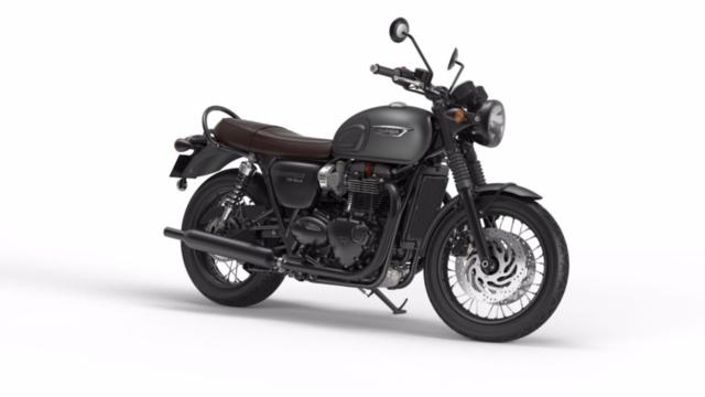 Acheter une moto TRIUMPH Bonneville T120 1200 Black ABS neuve