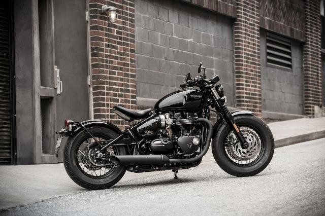 Acheter une moto TRIUMPH Bonneville T120 1200 Bobber Black Edition / AKTION CHOOSE YOUR LEGEND neuve