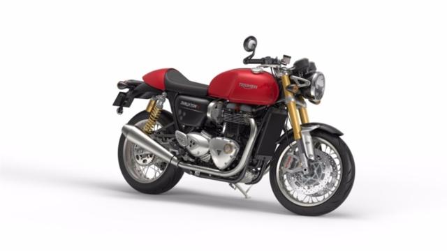 Acheter une moto TRIUMPH Thruxton 1200 R ABS AKTION GEAR UP neuve