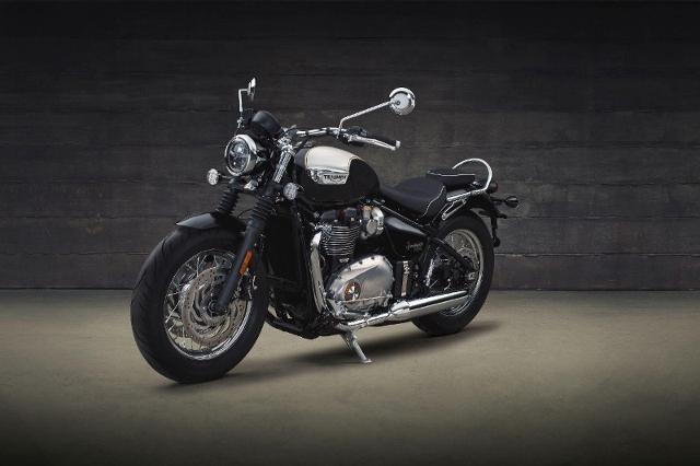 Motorrad kaufen TRIUMPH Bonneville T120 1200 Bobber Speedmaster Neufahrzeug
