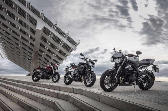 Acheter une moto TRIUMPH Street Triple 765 R AKTION STREET TRIPLE EXTRA neuve