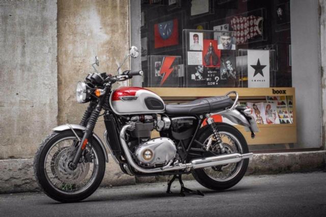Acheter une moto TRIUMPH Bonneville T120 1200 ABS neuve