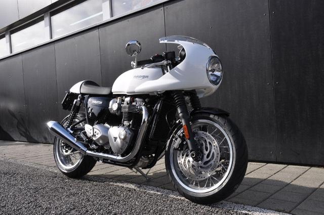 Acheter une moto TRIUMPH Thruxton 1200 ABS Caféracer neuve