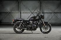 Motorrad kaufen Neufahrzeug TRIUMPH Bonneville T100 900 Black ABS (retro)