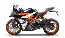 Acheter une moto neuve KTM 390 RC Supersport ABS (sport)