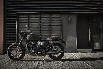Louer moto TRIUMPH Bonneville T120 1200 Black ABS (Retro)