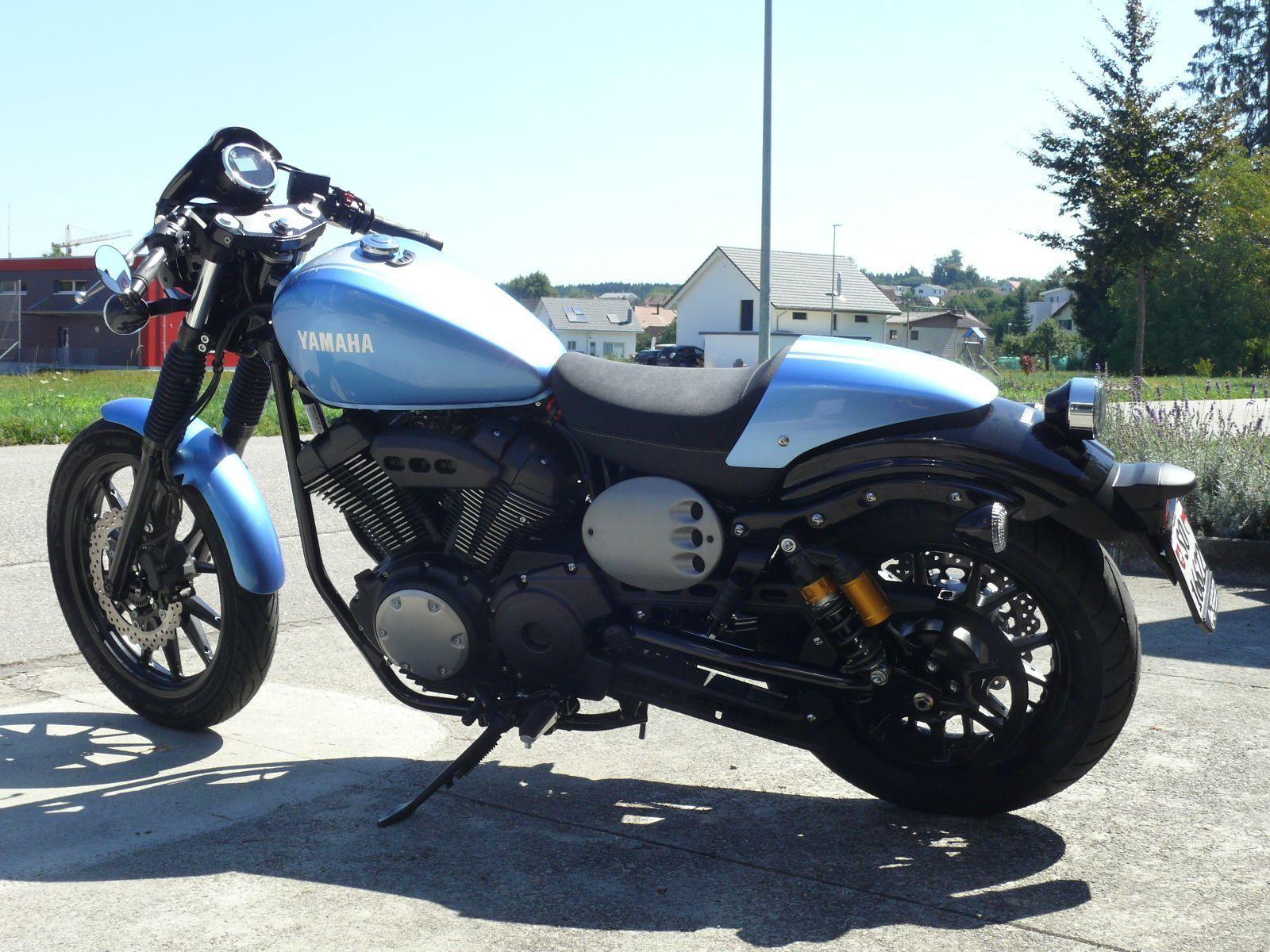 motorrad vorf hrmodell kaufen yamaha xv 950 cu abs racer von arb bike ag neuendorf. Black Bedroom Furniture Sets. Home Design Ideas