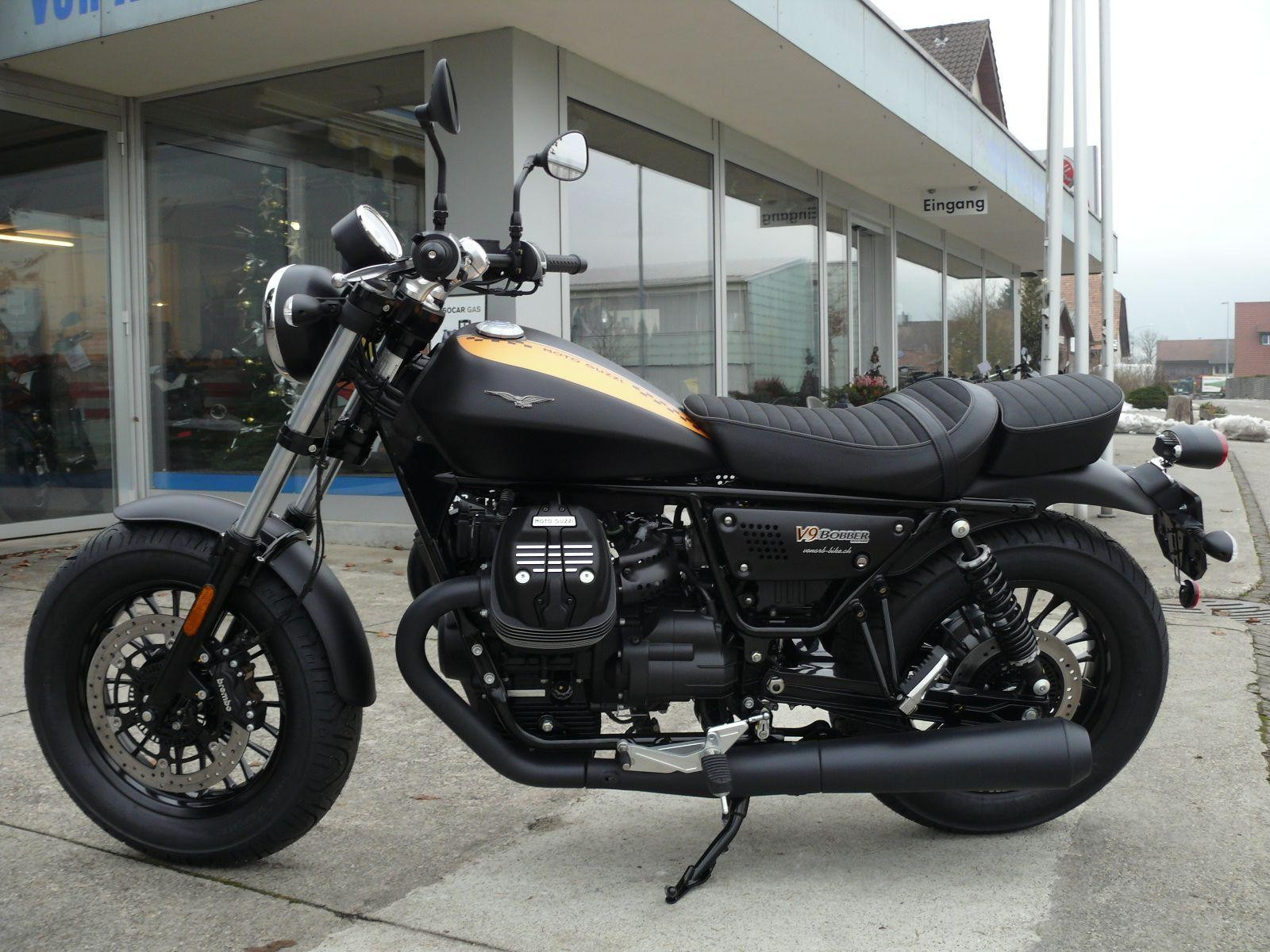 moto neuve acheter moto guzzi v9 bobber abs leasing ab von arb bike ag neuendorf. Black Bedroom Furniture Sets. Home Design Ideas