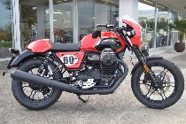 Töff kaufen MOTO GUZZI V7 III Stone ABS BLACK & RED LIMITED Edition Retro