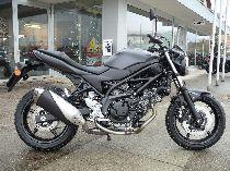 Motorrad Mieten & Roller Mieten SUZUKI SV 650 U ABS (Naked)