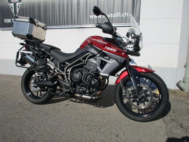 Motorrad kaufen TRIUMPH Tiger 800 XR ABS XRT mit 3 Koffer Occasion