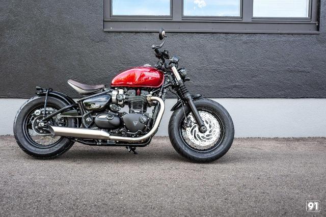 Motorrad kaufen TRIUMPH Bonneville 1200 Bobber Euro 5 Neufahrzeug