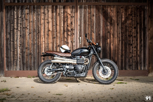 Motorrad kaufen TRIUMPH Street Scrambler 900 CC91 Spezial Neufahrzeug