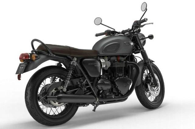 Motorrad kaufen TRIUMPH Bonneville T120 1200 Black ABS Neufahrzeug