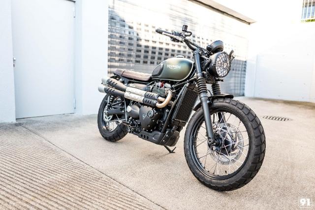 Motorrad kaufen TRIUMPH Street Scrambler 900 M91 Spezial Neufahrzeug