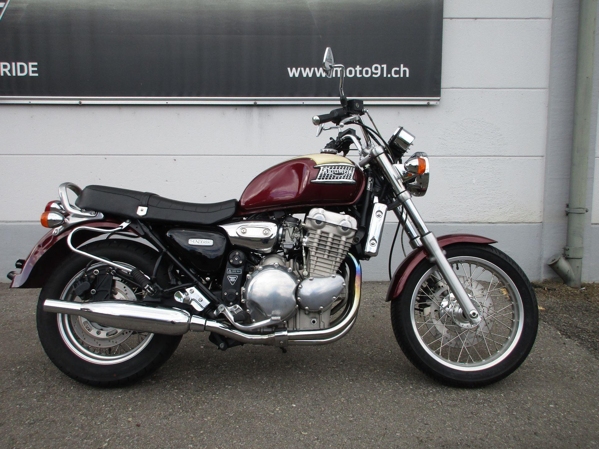 moto occasions acheter triumph thunderbird 900 the real one moto 91 ag h ri. Black Bedroom Furniture Sets. Home Design Ideas