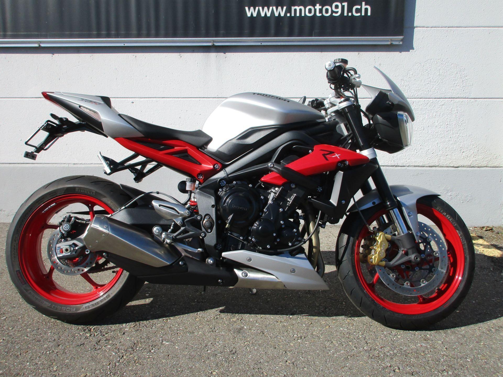 Motorrad Vorjahresmodell Kaufen Triumph Street Triple 675 Rx Abs M91