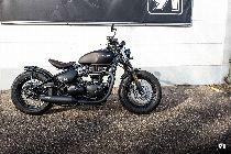 Töff kaufen TRIUMPH Bonneville 1200 Bobber Black Retro