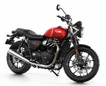 Motorrad Mieten & Roller Mieten TRIUMPH Street Twin 900 ABS (Naked)