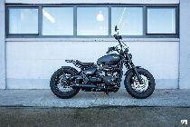 Motorrad kaufen Occasion TRIUMPH Bonneville 1200 Bobber Black (retro)