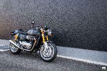 Motorrad kaufen Vorjahresmodell TRIUMPH Thruxton 1200 R ABS (retro)