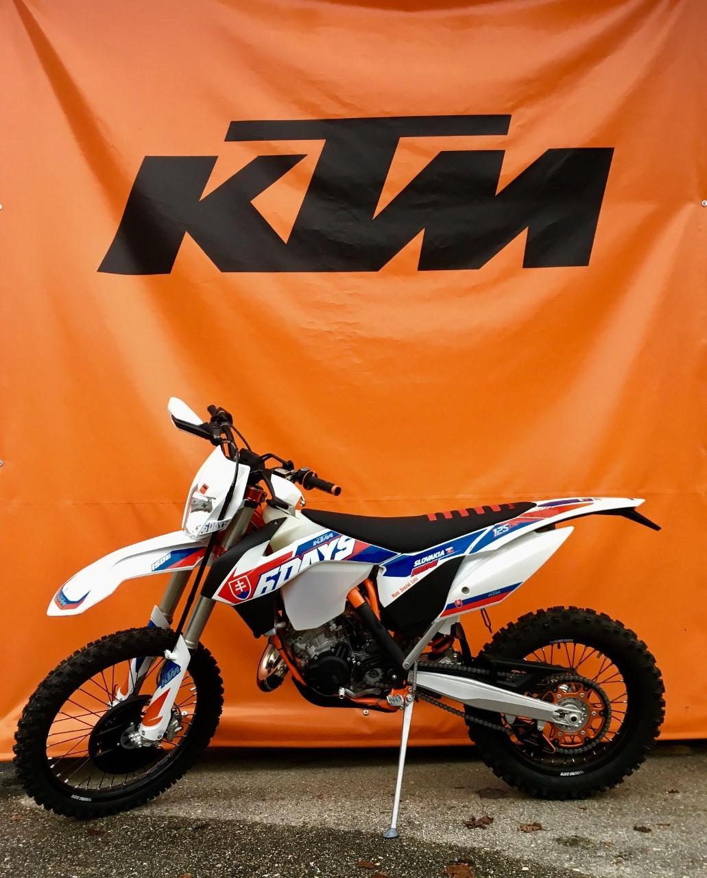 moto occasions acheter ktm 125 exc enduro six days moto. Black Bedroom Furniture Sets. Home Design Ideas