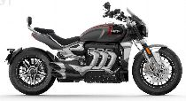 Motorrad Mieten & Roller Mieten TRIUMPH Rocket 3 R (Custom)