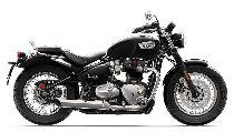 Rent a motorbike TRIUMPH Bonneville 1200 Speedmaster (Retro)