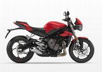 Motorrad Mieten & Roller Mieten TRIUMPH Street Triple 660 S (Naked)