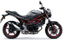 Motorrad Mieten & Roller Mieten SUZUKI SV 650 U ABS (Touring)