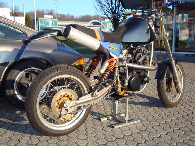 Motorrad kaufen YAMAHA WASP XT 500 Monobike Oldtimer