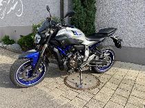 Motorrad kaufen Occasion YAMAHA MT 07 ABS 35kW (naked)