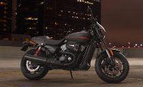 Motorrad Mieten & Roller Mieten HARLEY-DAVIDSON Street Rod 750 (Custom)