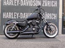Motorrad kaufen Occasion HARLEY-DAVIDSON XL 883R Sportster Roadster ABS (custom)