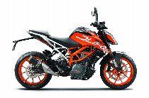 Motorrad Mieten & Roller Mieten KTM 390 Duke ABS (Naked)