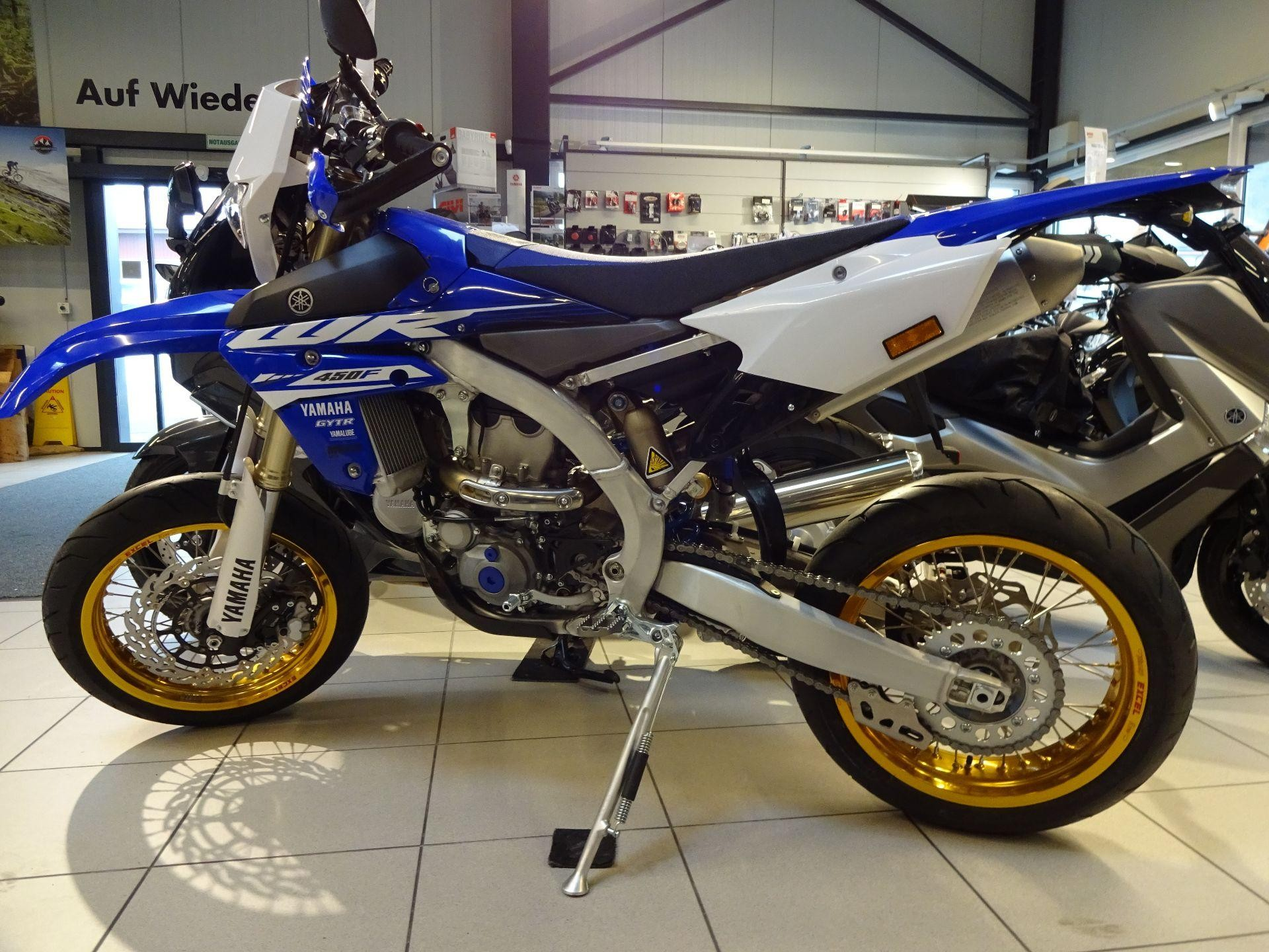 Buy motorbike New vehicle/bike YAMAHA WR 450 F Supermoto Lucky Star ...