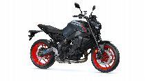 Motorrad Mieten & Roller Mieten YAMAHA MT 09 (Naked)