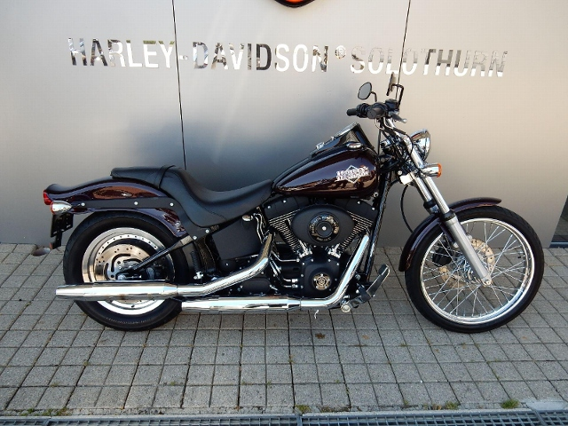 Motorrad kaufen HARLEY-DAVIDSON FXSTBI 1450 Softail Night Train Occasion