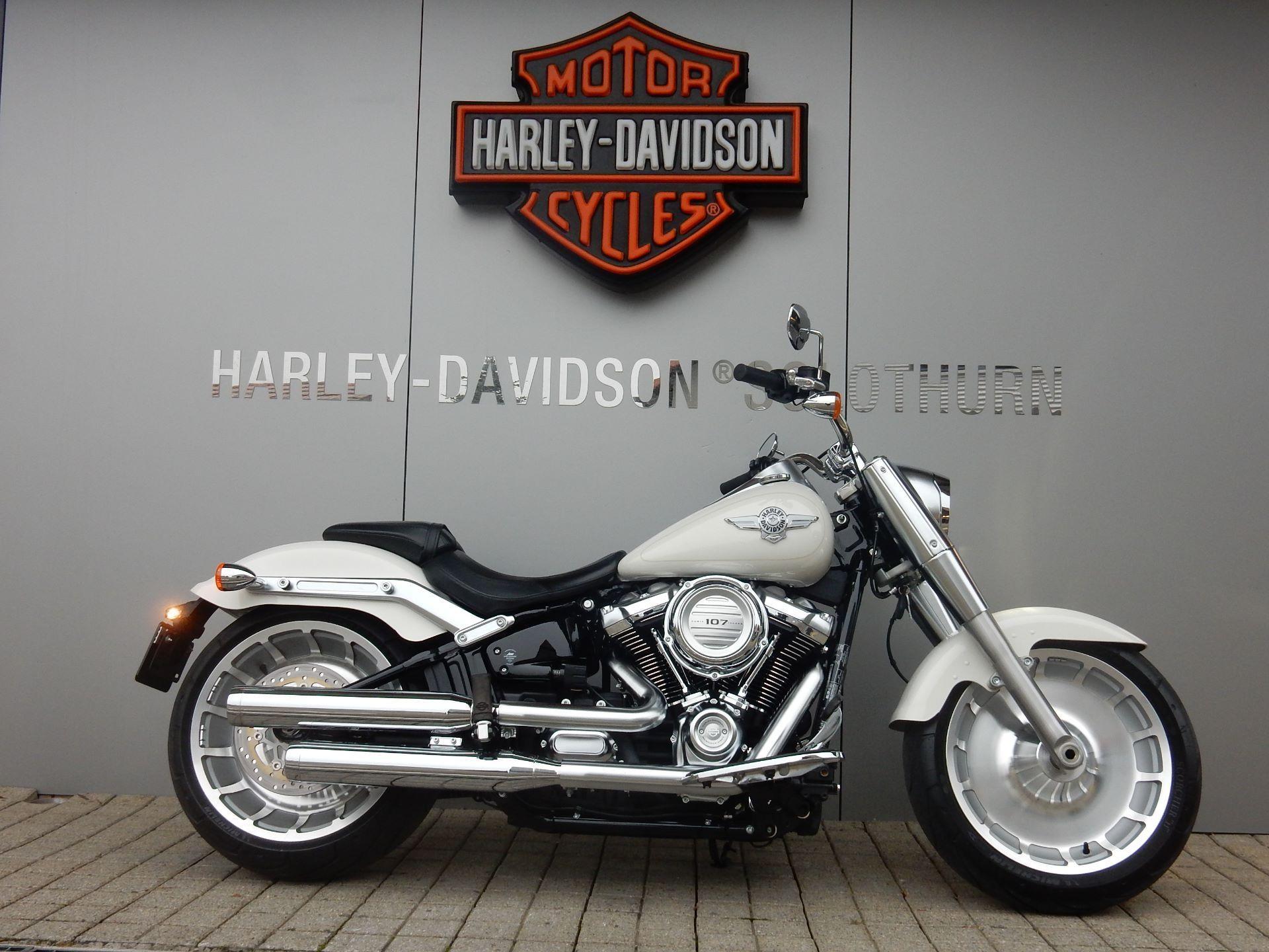 motorrad occasion kaufen harley davidson flfb 1745 fat boy. Black Bedroom Furniture Sets. Home Design Ideas