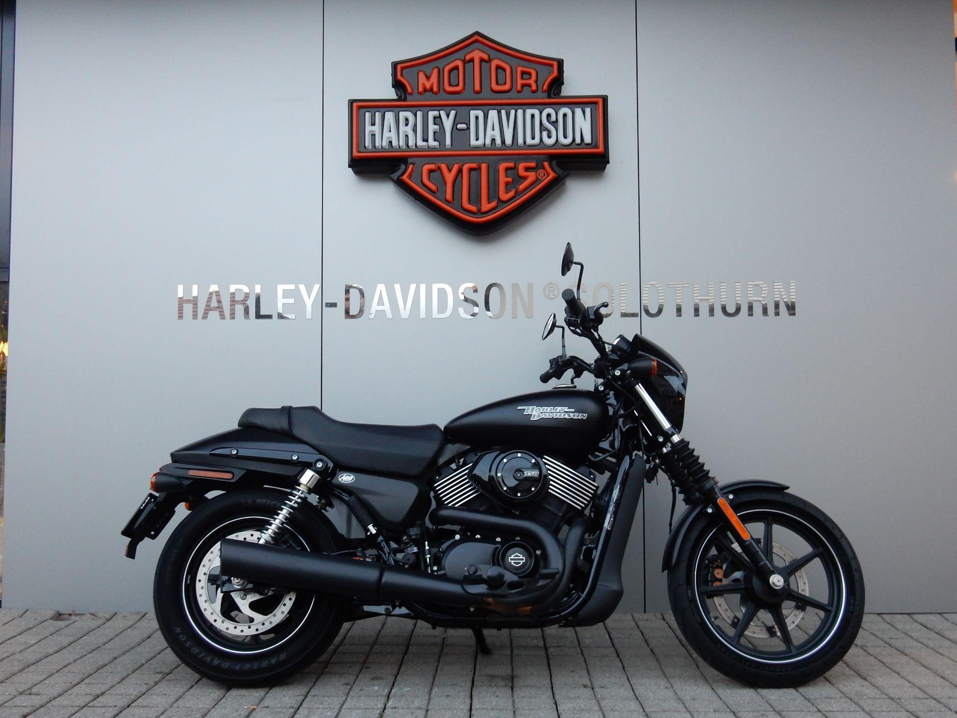 moto occasions acheter harley davidson street 750 arni. Black Bedroom Furniture Sets. Home Design Ideas