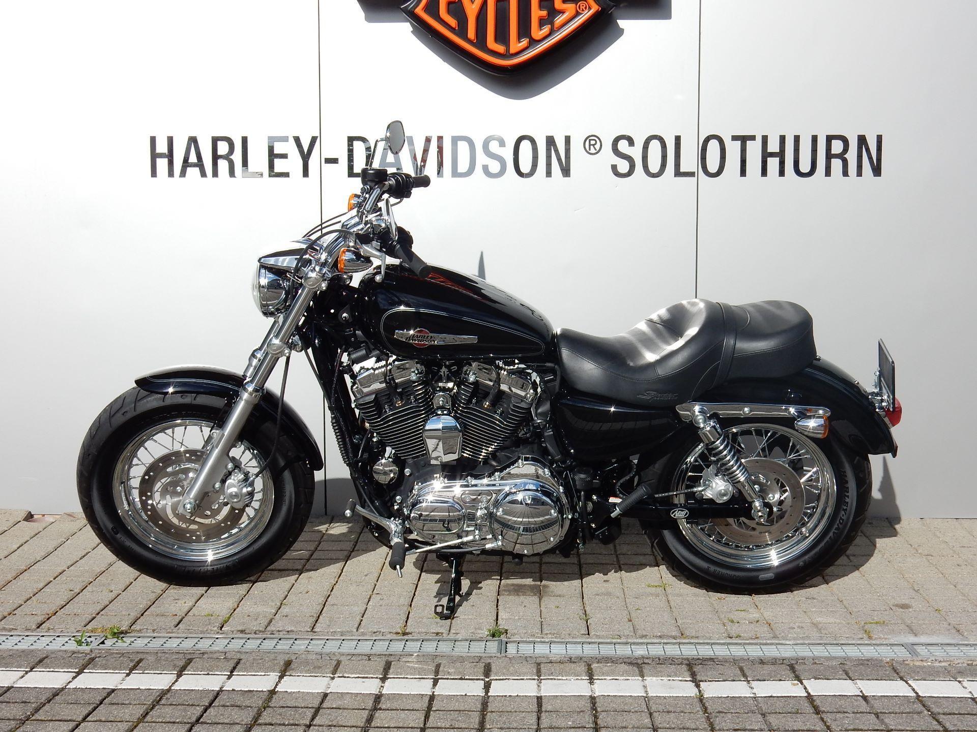motorrad occasion kaufen harley davidson xl 1200c sportster custom arni harley davidson hessigkofen. Black Bedroom Furniture Sets. Home Design Ideas