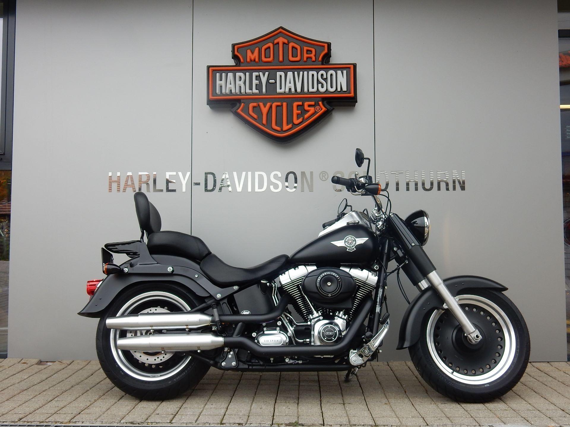 motorrad occasion kaufen harley davidson flstfb 1690. Black Bedroom Furniture Sets. Home Design Ideas