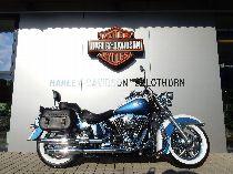 Motorrad kaufen Occasion HARLEY-DAVIDSON FLSTNI 1450 Softail Deluxe (custom)