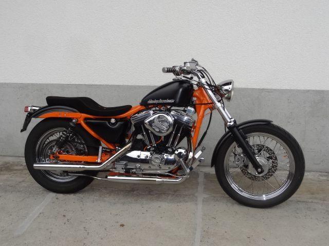 Motorrad kaufen HARLEY-DAVIDSON XLH 1000 Sportster Occasion