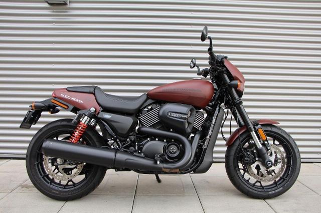 Motorrad kaufen HARLEY-DAVIDSON Street Rod 750 Ref. 0575 Occasion