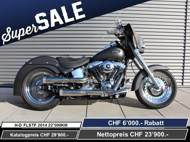 Motorrad kaufen HARLEY-DAVIDSON FLSTF 1690 Softail Fat Boy ABS Ref. 2878 Occasion