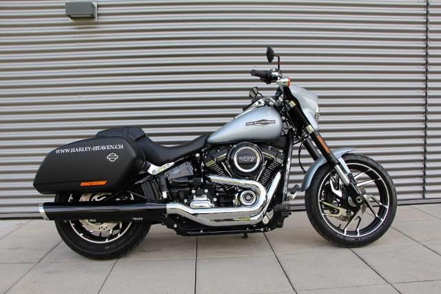 Motorrad kaufen HARLEY-DAVIDSON FLSB 1745 Softail Sport Glide 107 Ref. 6854 Occasion