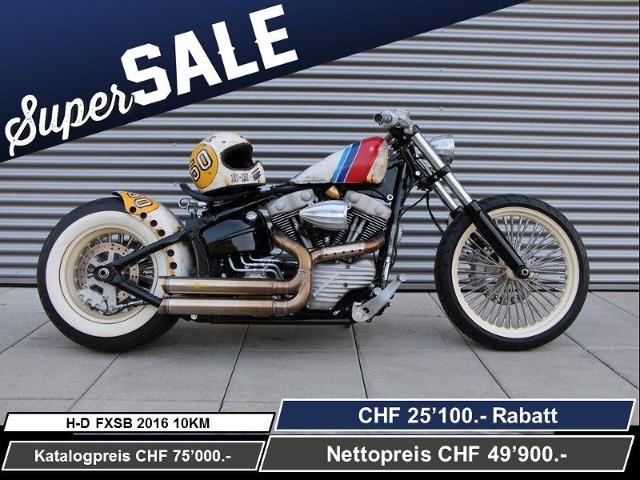 Motorrad kaufen HARLEY-DAVIDSON FXSB 1690 Softail Breakout ABS Ref: 8468 Neufahrzeug