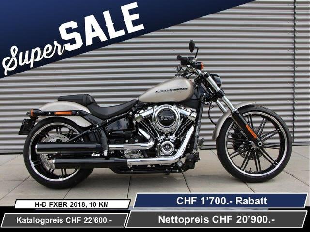 Motorrad kaufen HARLEY-DAVIDSON FXBR 1745 Breakout 107 Ref. 9499 Neufahrzeug